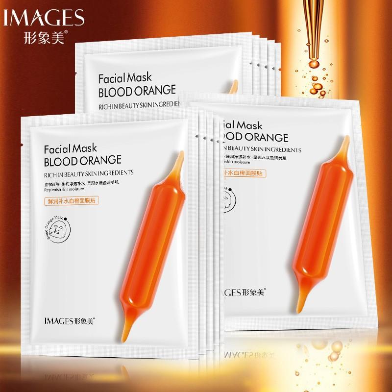 Тканевая маска c экстрактом красного апельсина Images Blood Orange Mask