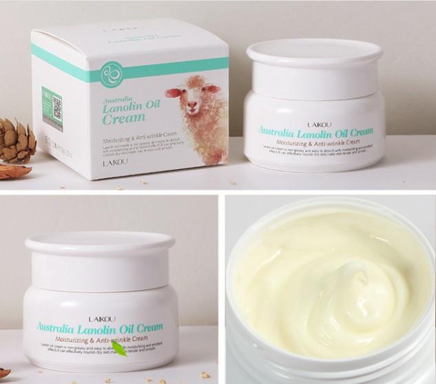 Экстра увлажняющий восстанавливающий крем ланолин LAIKOU Australia lanolin oil cream, 35 гр.