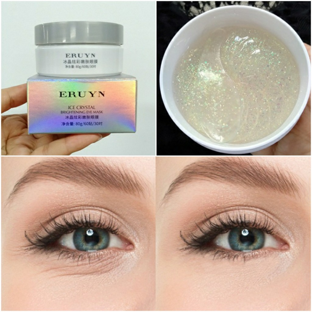 Патчи для глаз с ниацинамидом ERUYN ICE CRYSTAL Nicotinamide, 60 шт.